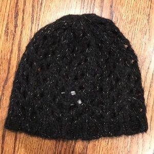 Old Navy knit sparkle beanie